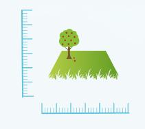 Grundstücksgröße